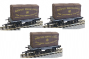 Dapol 4F-037-007(3) Conflat & Container GWR K-1674